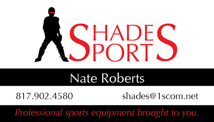 Shades Sports – Business Card