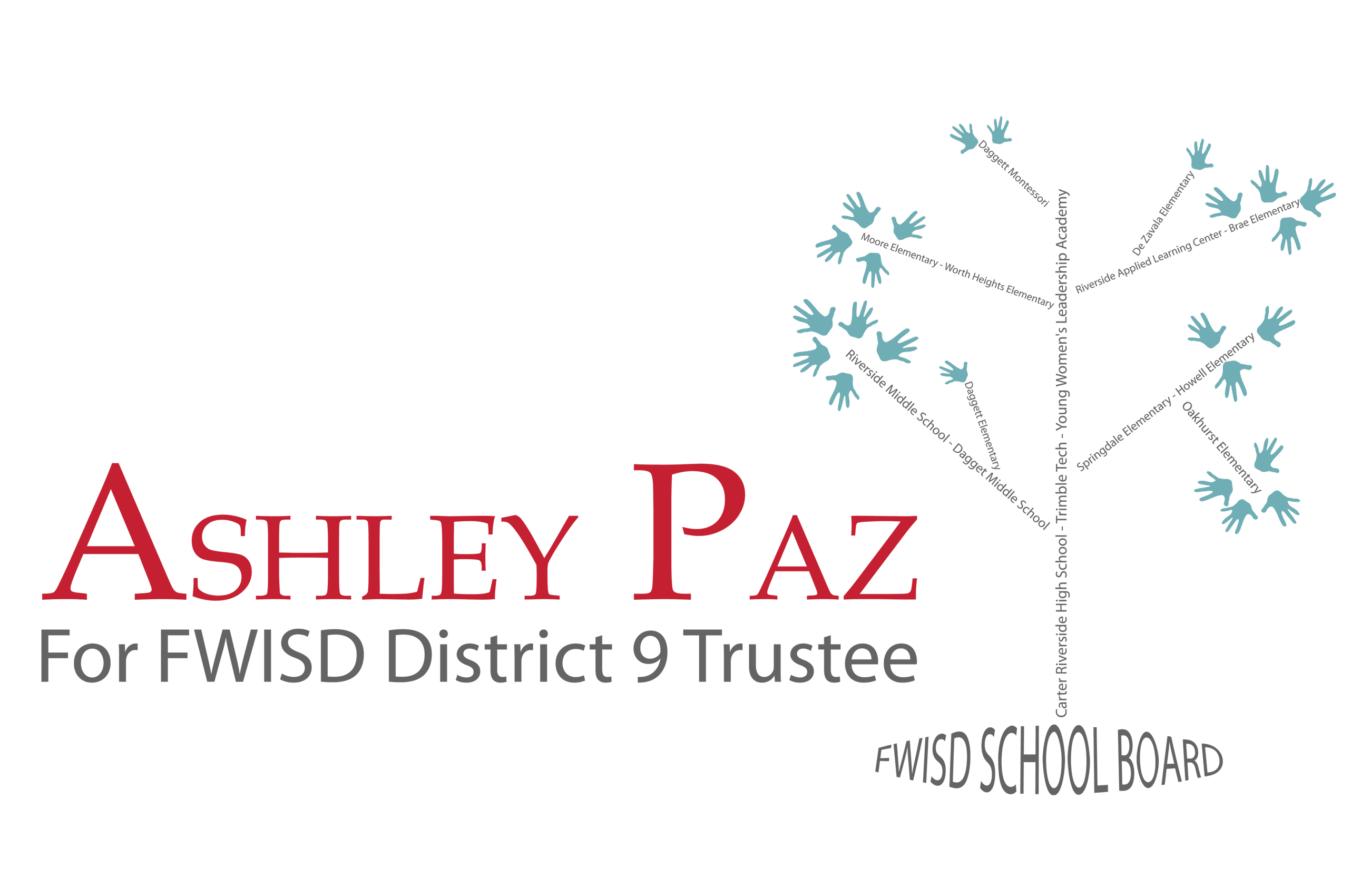 Ashley Paz for FWISD District 9 Trustee