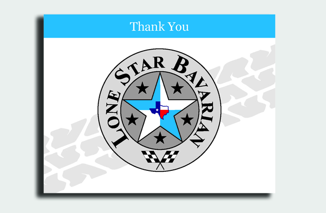 Lone Star Bavarian Stationery