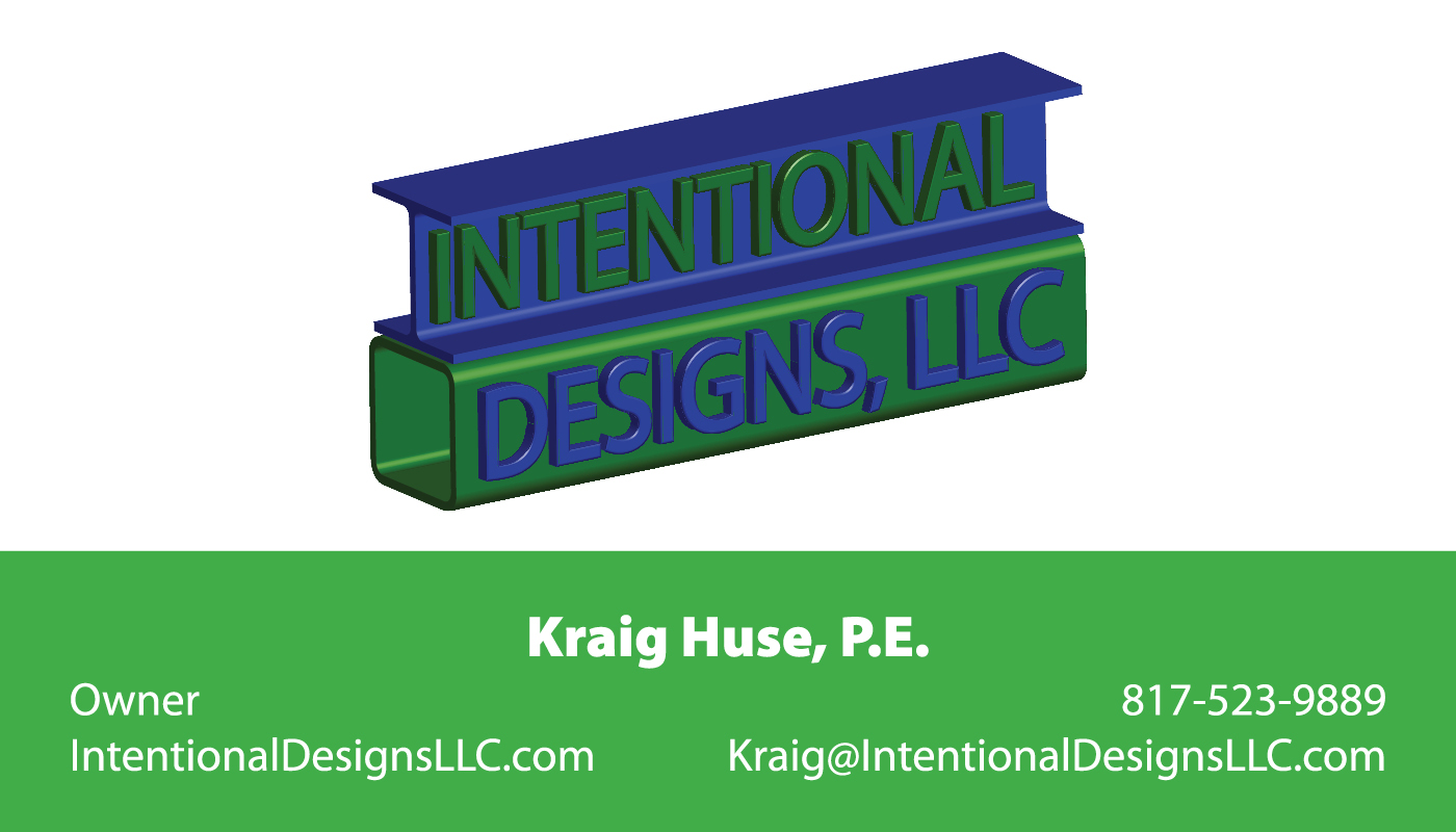 Kraig Huse Horizontal Business Cards